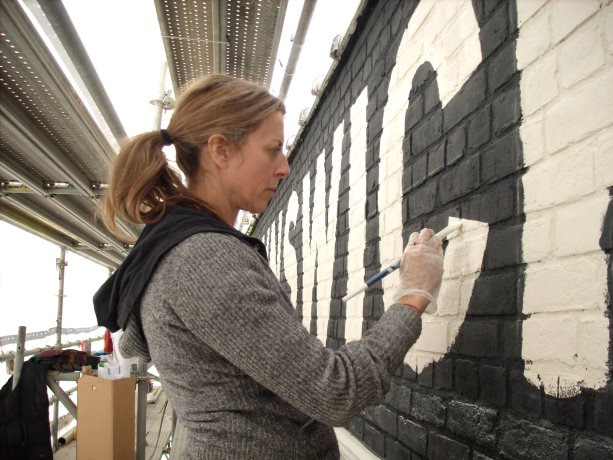 Restoration artist calls on the past to restore for the future