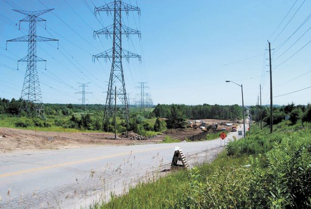 Brock Road widens for future establishments