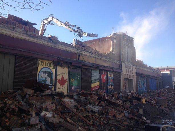 Demolition of Rainy Lake Hotel gives Fort Frances a fresh start