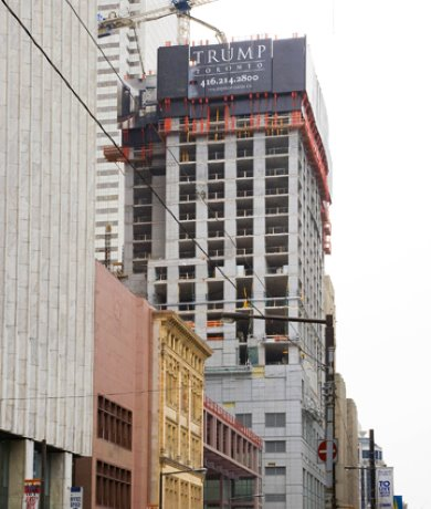Work moves upward on Trump International Hotel and Tower in Toronto