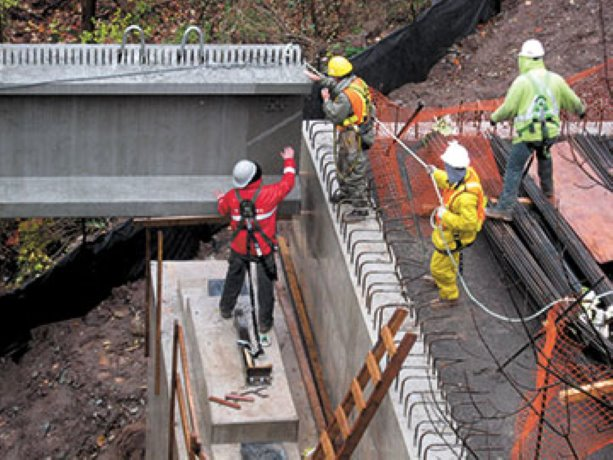 Old bridge piers find new life in Bronte Creek Valley