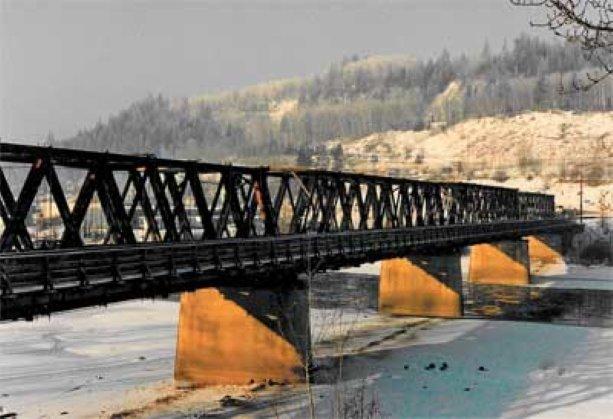 Cameron Street bridge gets major facelift