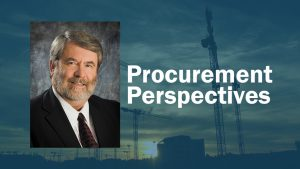 Procurement Perspectives: During this pandemic, there is no substitute for hard work