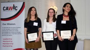 CAWIC presents bursaries to students pursuing construction careers