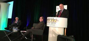Former B.C. premier Harcourt pushes transportation expansion, efficiencies