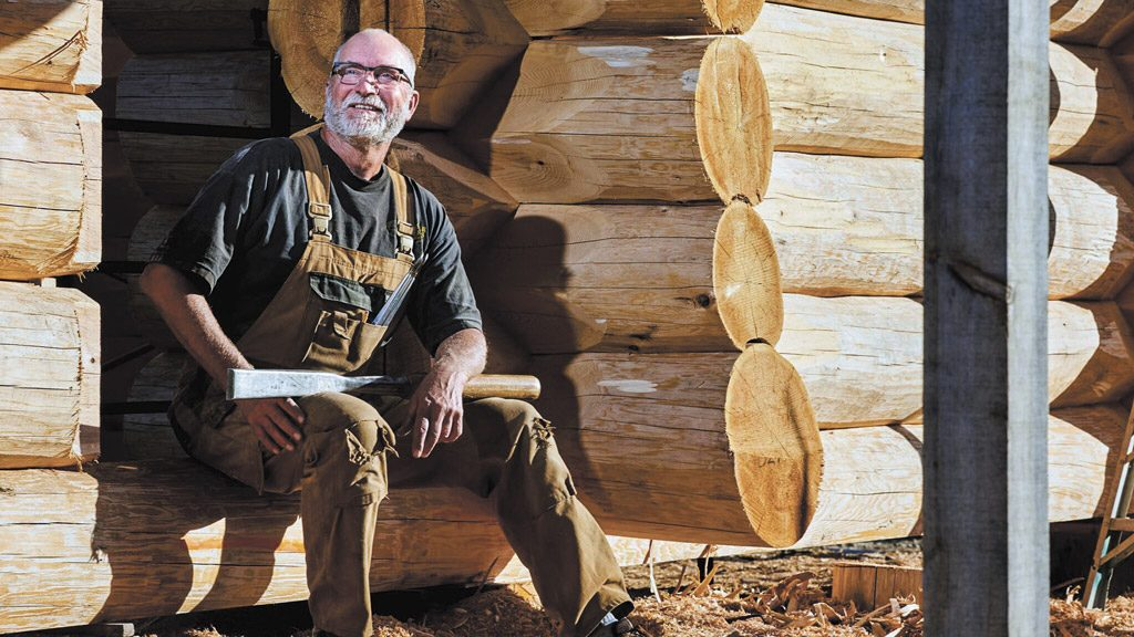 Logging in with the International Log Builders' Association