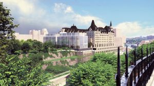 Scaled-down addition plans unveiled for Chateau Laurier