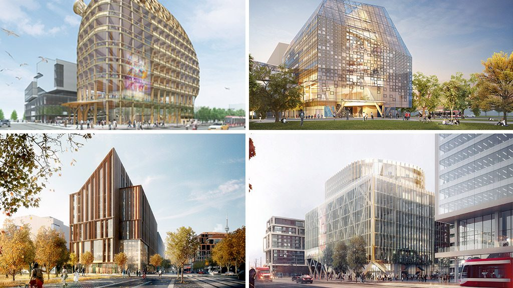 George Brown unveils four finalists in tall-wood Arbour competition