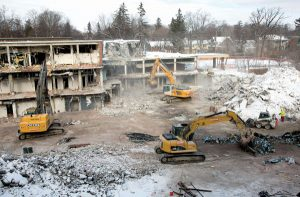 Working quietly among goals for Oakville hospital demo