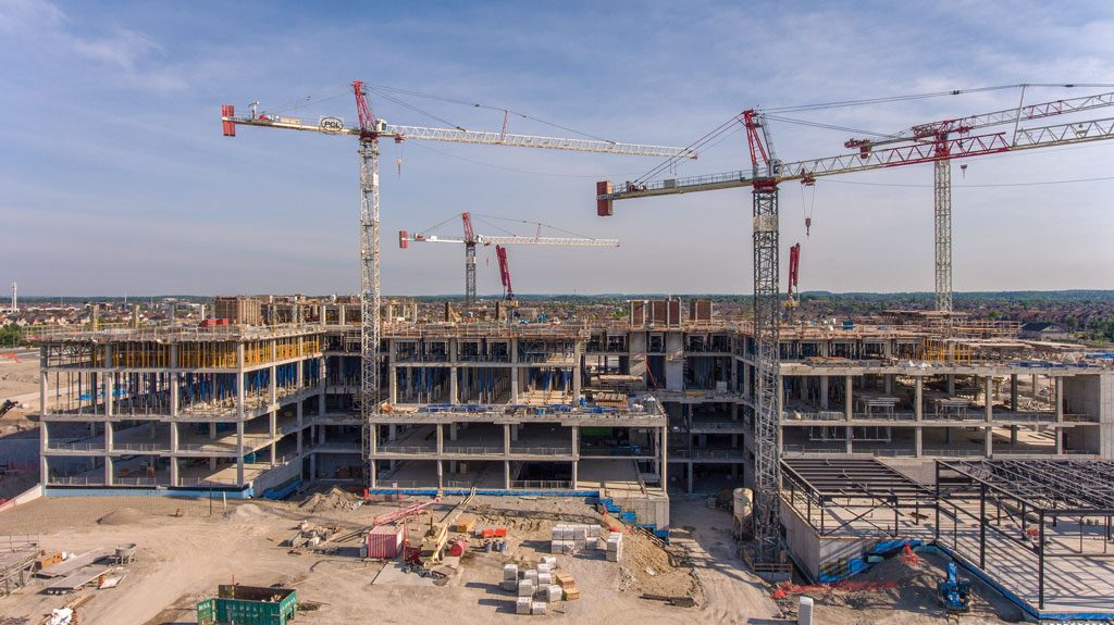 Modular elements increase efficiency at Mackenzie Vaughan Hospital build