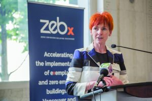 Fiona Famulak, former VRCA president, hopes ZEBx will stimulate interest in ICI construction when it comes to zero emissions building.