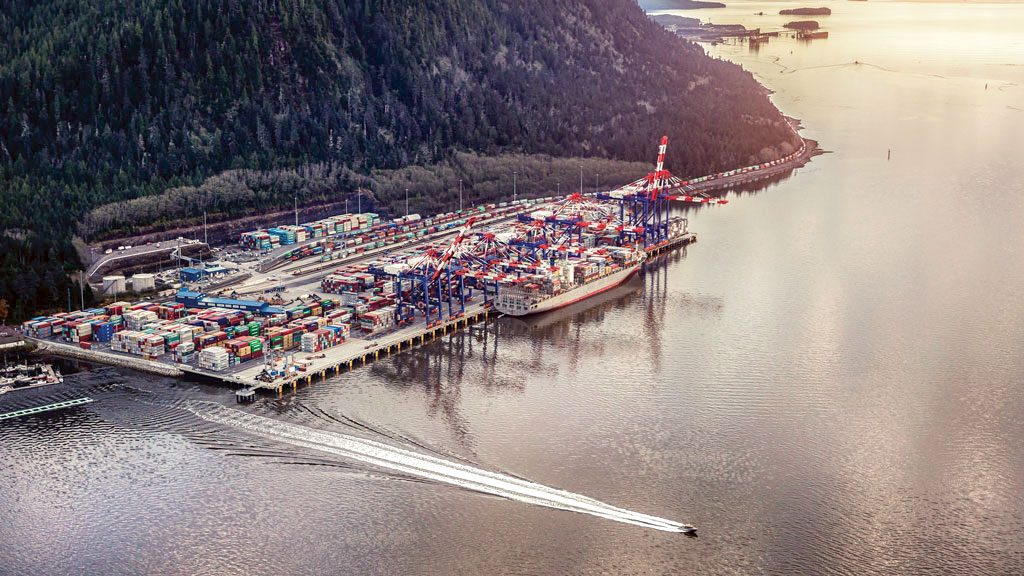 Fairview terminal north expansion an award winner beyond the work site