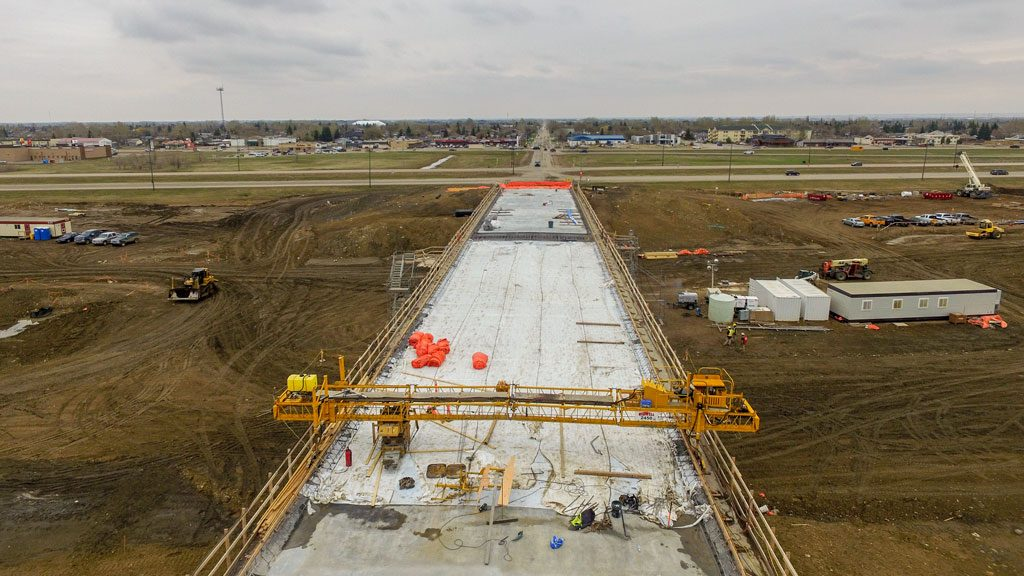 Saskatchewan overpass project to finish a year early