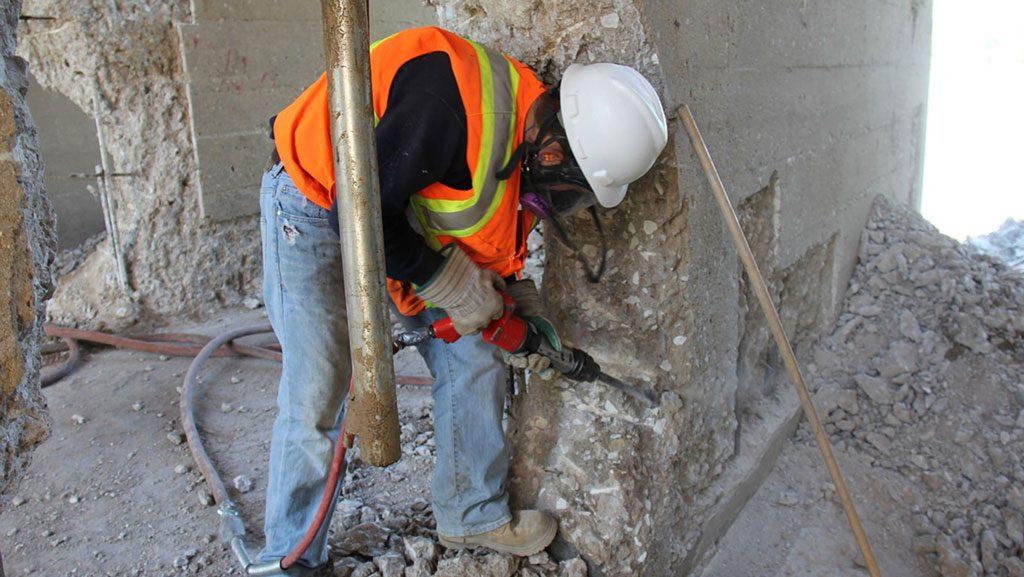 Comprehensive repairs drive parking garage restorations