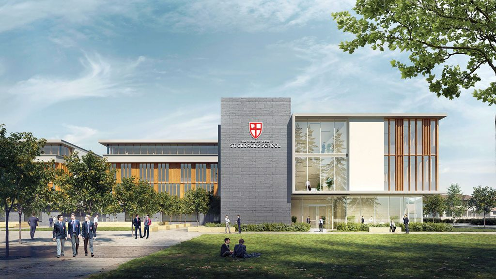 Multi-year renovation slated for Vancouver's St. George's School