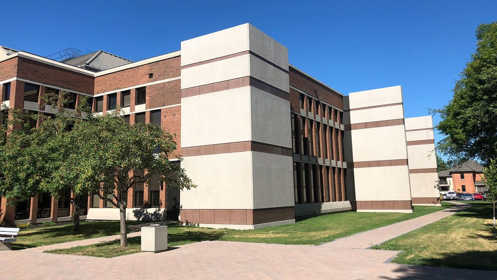 North Bay Courthouse restoration uses lateral force-resisting system