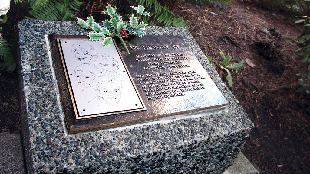 Vancouver marks anniversary of Bentall IV tower tragedy