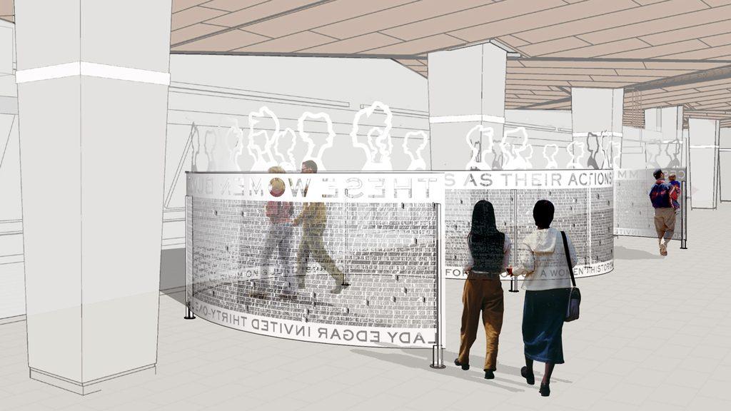 Ottawa's Confederation Line art a celebration of women's history
