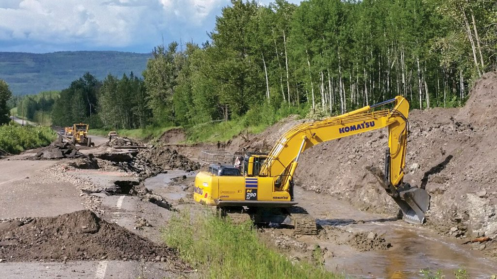 Climate change floods leading to bridge, culvert and road upgrades