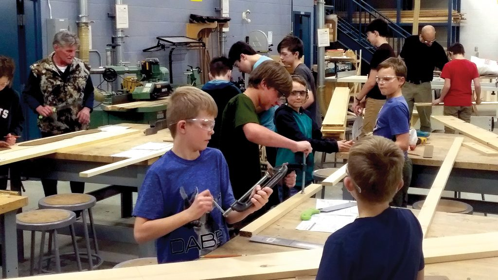 After school program gives kids a taste of the trades