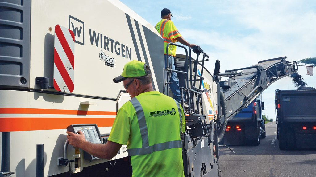 Cold planers key to asphalt milling projects