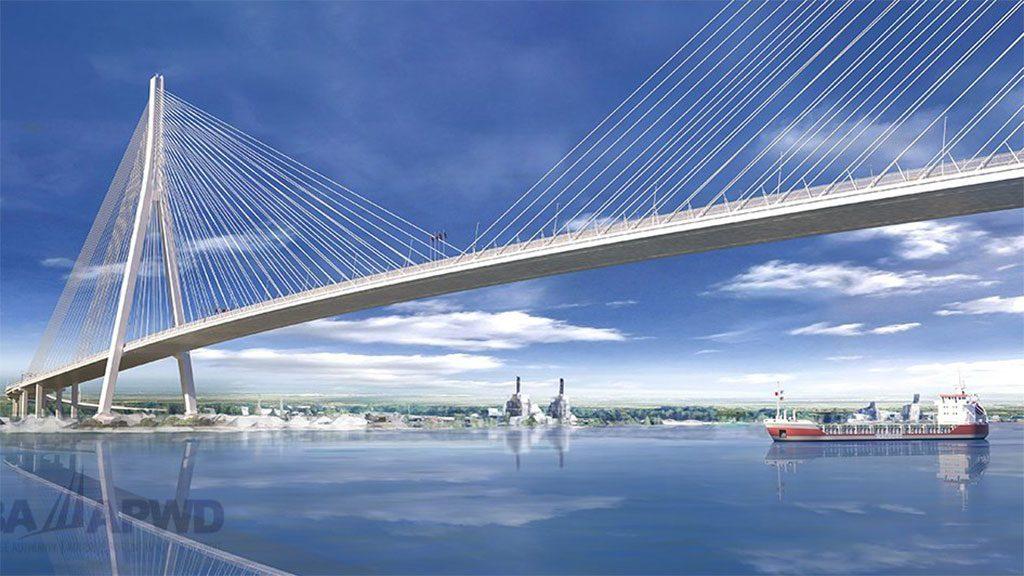 Heightened cross-border COVID testing not affecting Gordie Howe Bridge work: WDBA