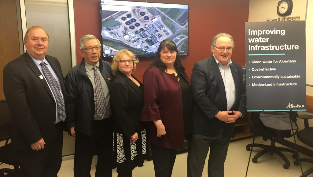 Alberta government pumps money into water projects