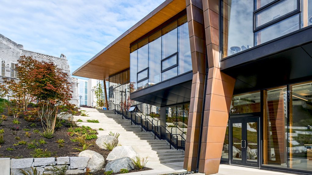Indian residential school centre project earns Formline Architecture wood design honours