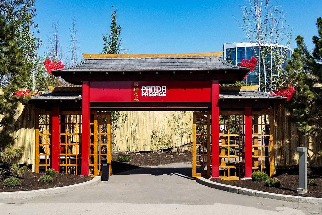 Calgary Panda enclosure achieves Petal certification
