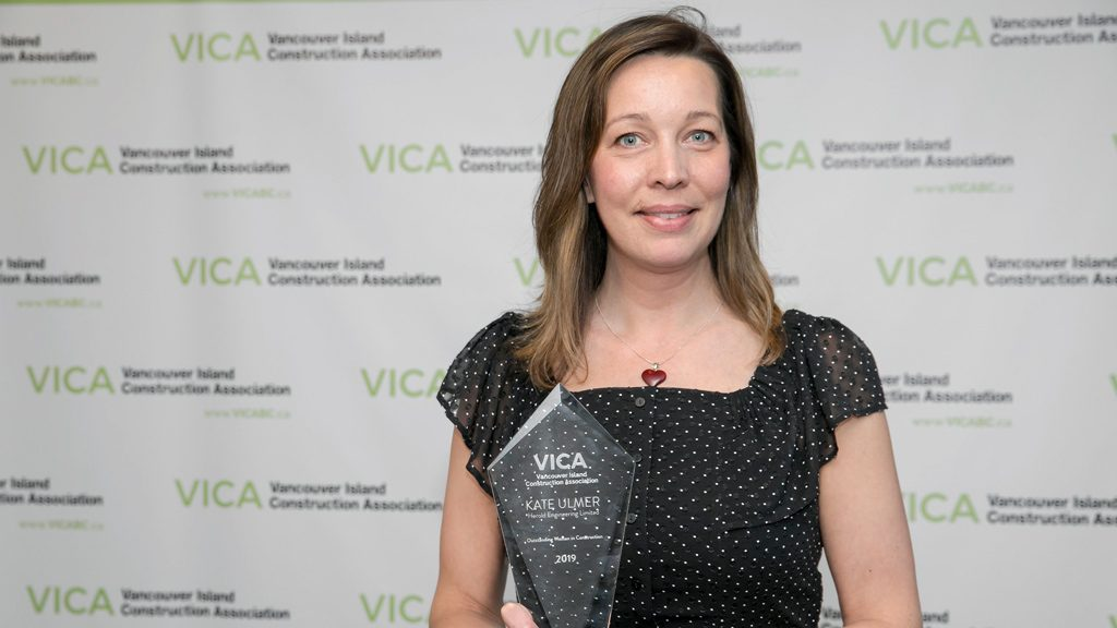 Ulmer recognized as VICA's outstanding woman in construction