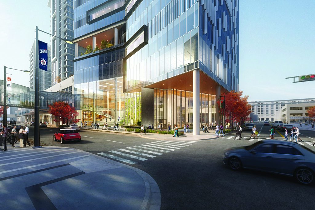 Construction of Winnipeg True North Square tower set for 2019