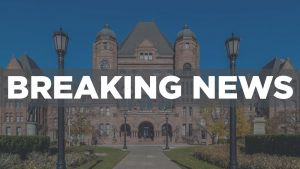 BREAKING: Ford shuffles cabinet, brings back minister who violated travel guidance