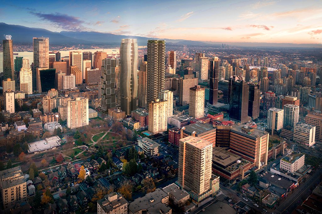 Tallest Passive House tower in world planned for Vancouver's West End