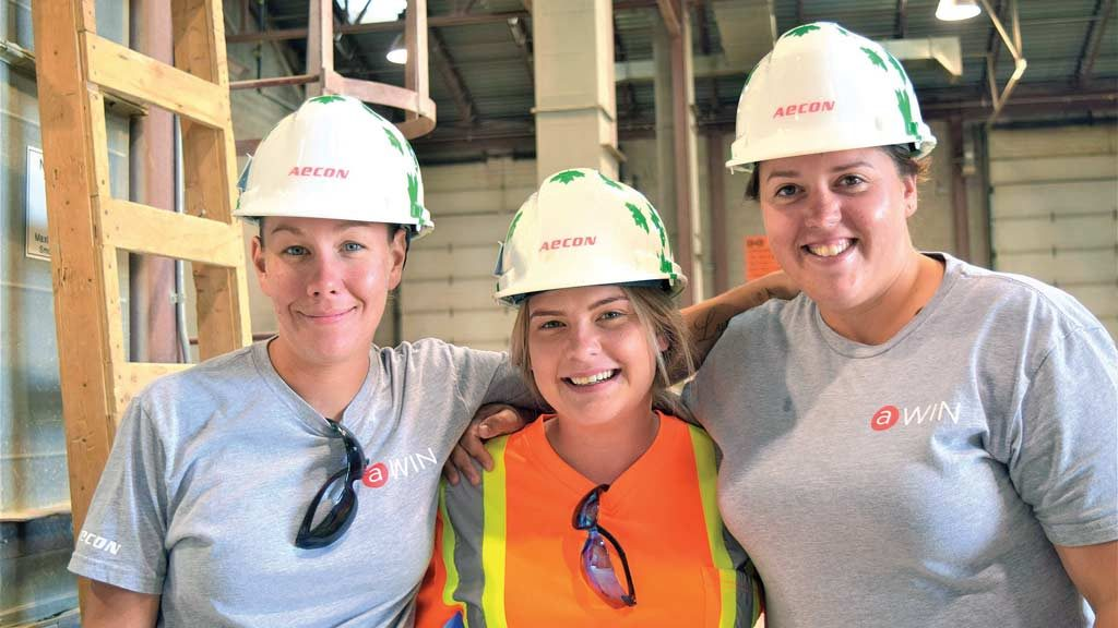 Aecon, LIUNA join forces on Women in Trades program