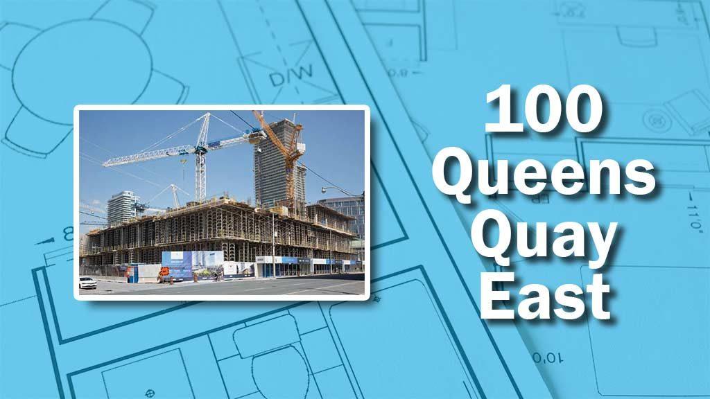 PHOTO: Queens Quay Construction