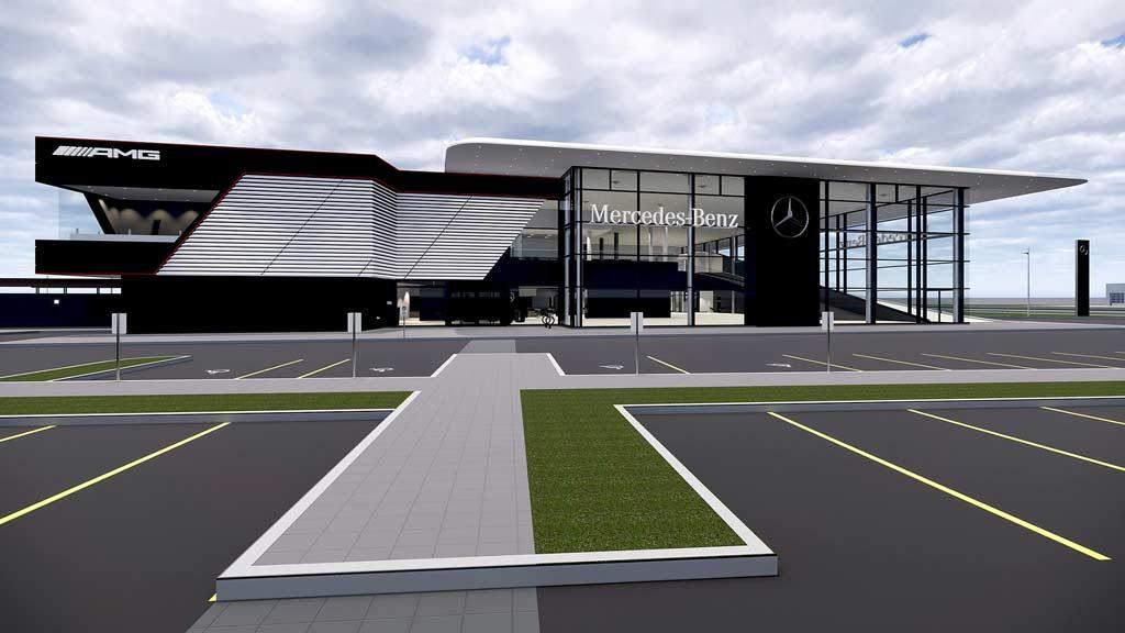 Mercedes-Benz kicks off construction of new Toronto dealership