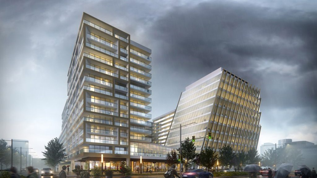 Work gets heavy on the $267-million The Paramount project in Richmond, B.C.