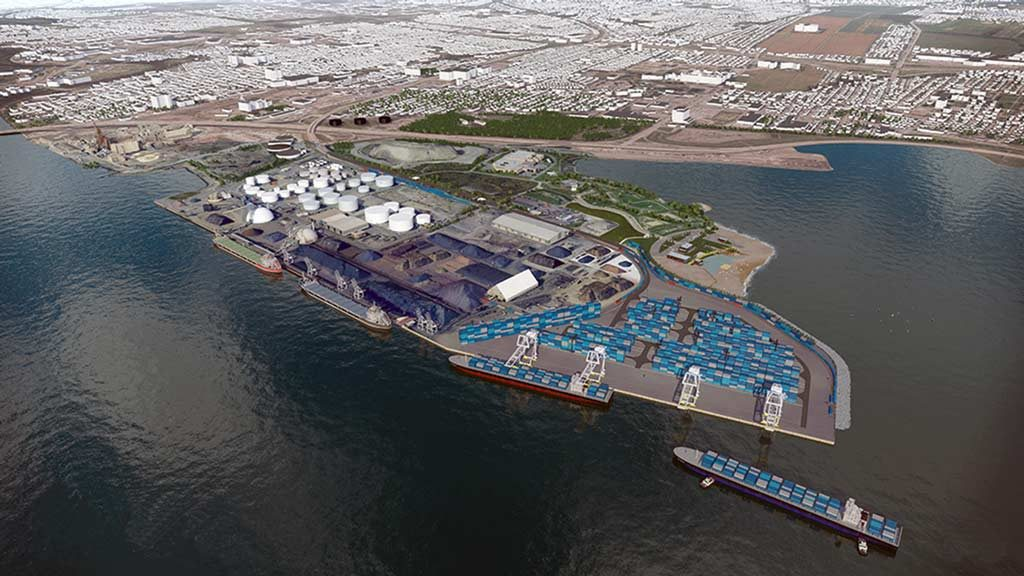 Quebec Port Authority plans for $775-million container terminal construction