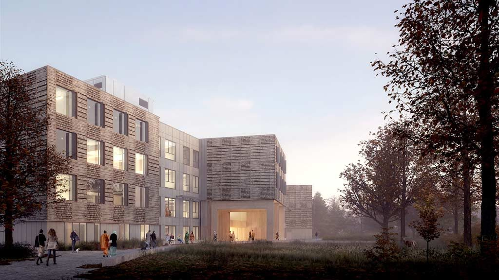 Mass timber at the core of TRCA's new home