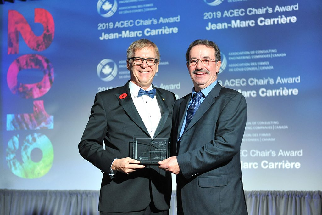 21-year ACEC staffer given Chair's Award