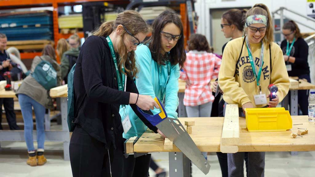 Conference exposes students to opportunities in science, tech and skilled trades