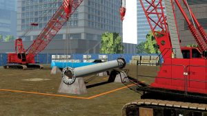 Simulator helps develop crane tandem lift skills