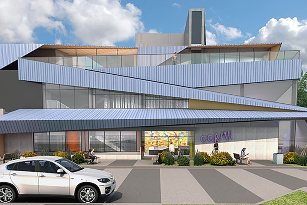 Officials break ground on Calgary mental health centre