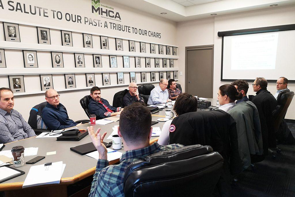MHCA and Manitoba Infrastructure talk specs
