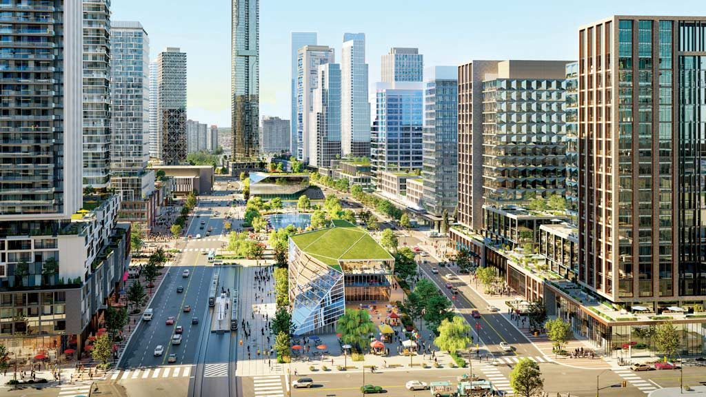 Square One District a record mixed-use development