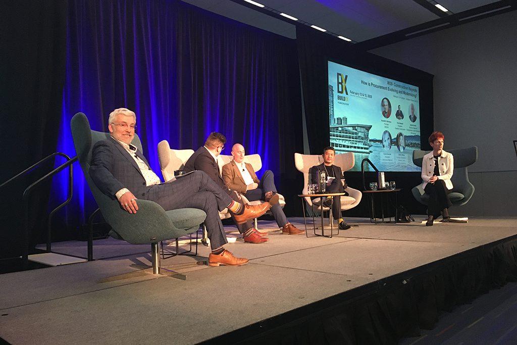 Leaders brainstorm procurement improvements at Buildex Vancouver