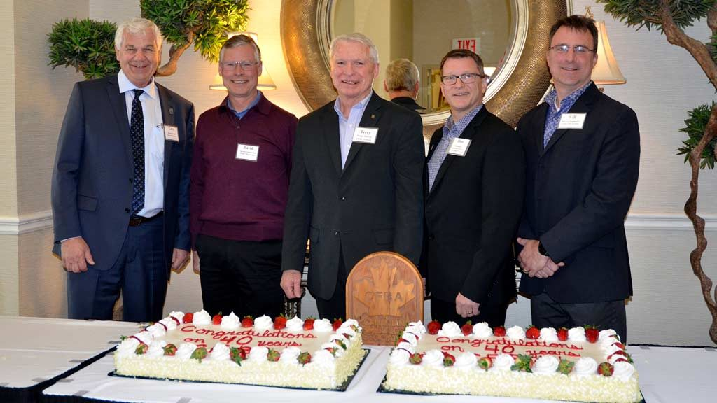 CFBA celebrates 40 years of advocacy, accomplishments