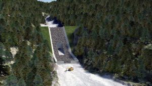 Early works set to start for the Cougar Creek dam in Canmore, Alta.