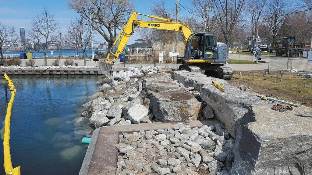 TRCA undertakes flood mitigation project on Toronto Islands