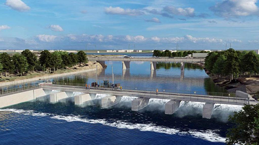 Scotts Mills Dam project near Peterborough, Ont. resumes
